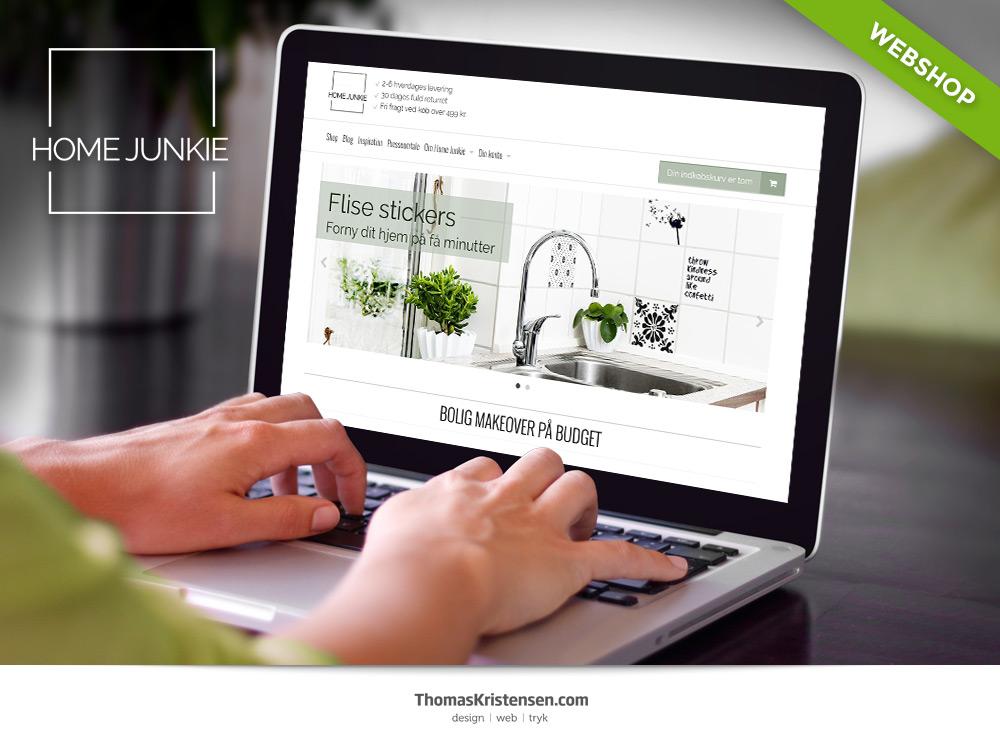 webshop design grafiker