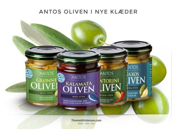 Emballagedesign reference – Antos / Danton Trading