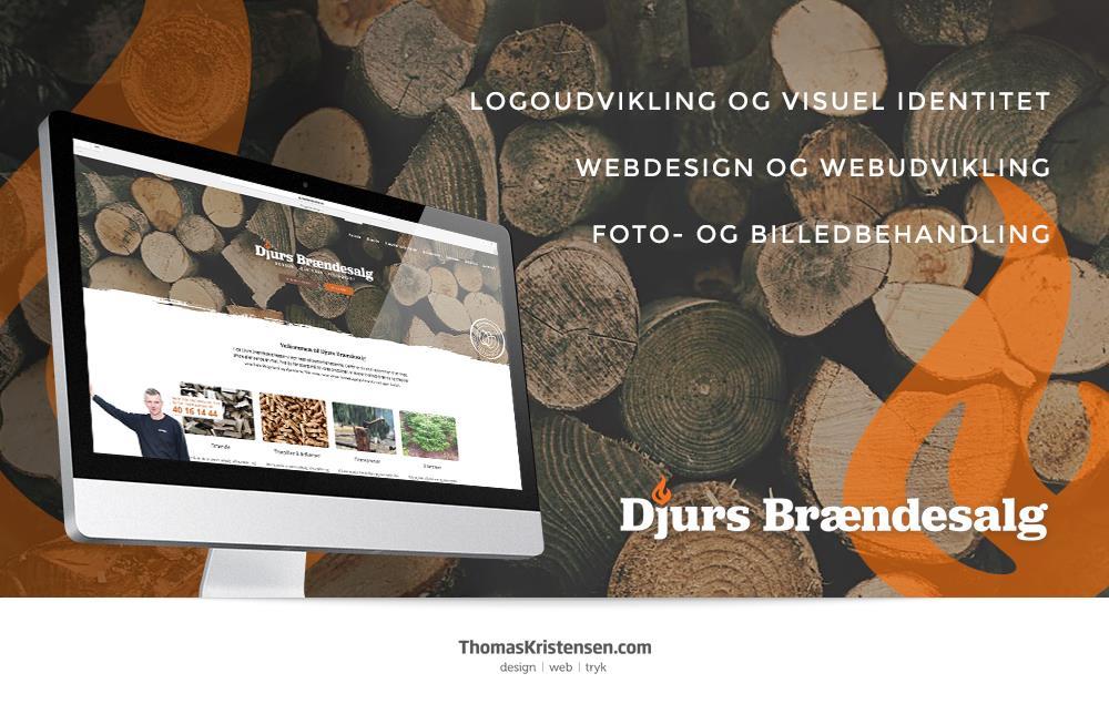 Nu har DjursBraendesalg.dk fået ny hjemmeside – ThomasKristensen.com står bag designet af den nye visuelle identitet og hjemmeside.